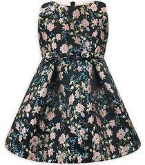 baby girl's, little girl's & girl's jacquard dress