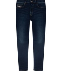 d-luster' distressed jeans