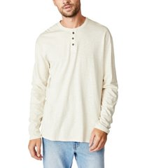 cotton on henley long sleeve t-shirt