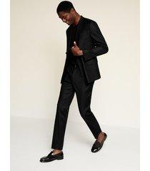 linnen slim-fit pantalon