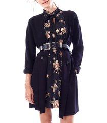 women's loyal hana olivia maternity sweater jacket, size medium - black