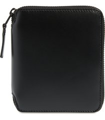 comme des garcons zip around leather wallet -