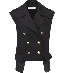 philosophy di lorenzo serafini double-breasted buttoned gilet