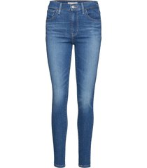 720 hirise super skinny love r skinny jeans blå levi´s women