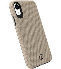 estuche protector nimbus9 latitude iphone x/xs - dorado