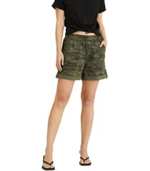 sanctuary trail blazer camo-print shorts