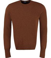 drumohr wool crew-neck pullover