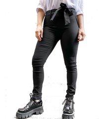 pantalón negro odas lazo bengalina