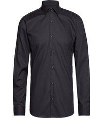 dobby | royal oxford - slim fit skjorta business blå seven seas copenhagen