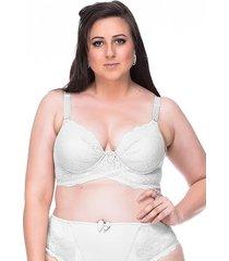 sutiã sempre sensual lingerie fashion branco - kanui