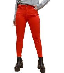 jeans taly rojo racaventura