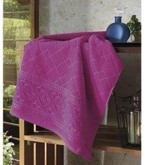 toalha de banho dohler confort, pink - fj-5281