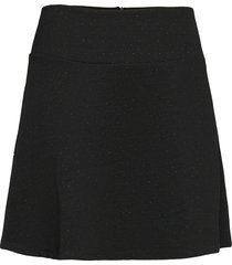 skirts knitted kort kjol svart edc by esprit
