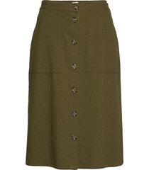 livasz skirt knälång kjol grön saint tropez
