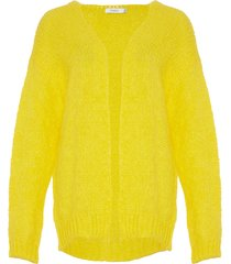 noella noella cardigan kala bright yellow