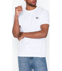 fred perry ringer t-shirt t-shirts & linnen white