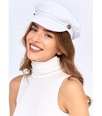 boinas y sombreros blanco derek 824743