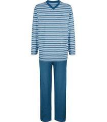 pyjama babista lichtblauw/wit