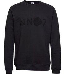 robin sweatshirt 3385 sweat-shirt trui zwart nn07
