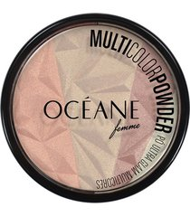 océane femme pó facial multicolor powder multicores