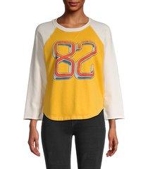 the batter up cotton raglan sweatshirt