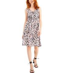 inc a-line chiffon dress, created for macy's