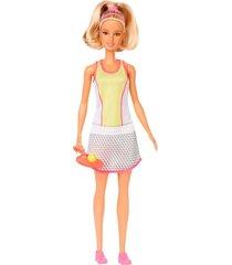 boneca barbie profissões jogadora de tênis - mattel