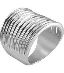 anello fantasia lady code acciaio per donna