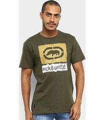camiseta ecko básica estampada e893a masculina - masculino