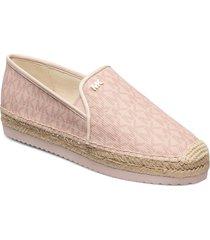 hastings slip on sandaletter expadrilles låga rosa michael kors shoes
