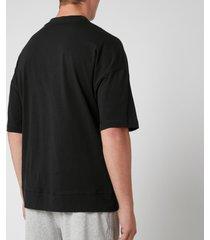 calvin klein men's jersey crew neck t-shirt - black - xl