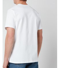 a.p.c. men's item t-shirt - white - xxl