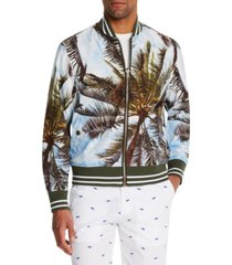 brooklyn brigade men's slim-fit tobago reversible bomber jacket