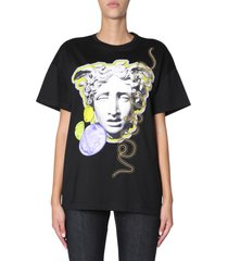 versace medusa head printed t-shirt