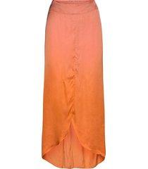 ima knälång kjol orange rabens sal r