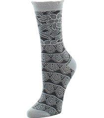 lace trelis crew socks