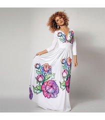 flora - suknia w kwiaty