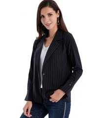 blazer básico rayas azul/blanco nicopoly