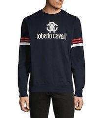 graphic cotton sweatshirt