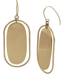 robert lee morris soho disc orbital earrings