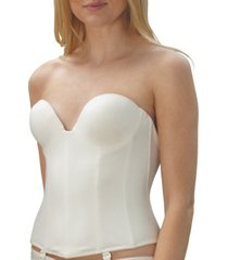 women's invisible strapless bustier