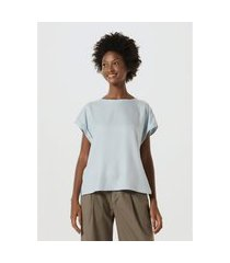 blusa feminina em tecido de viscose