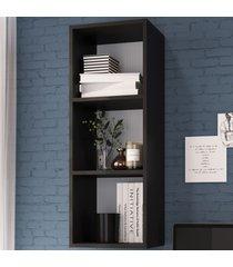 nicho de decoração ae030 preto - art in móveis