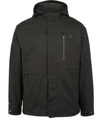 wolverine men's fortifier 3-in-1 jacket black, size l