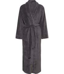 cornflocker fleece robe long morgonrock grå missya