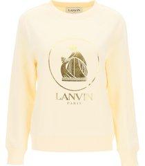 lanvin cotton sweatshirt mere et fille