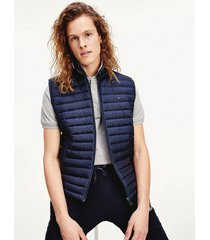 chaleco core packable down azul tommy hilfiger