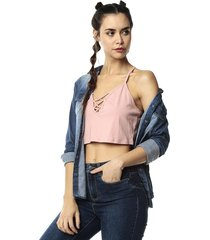 crop top rosa ambiance