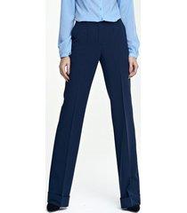 spodnie z mankietem