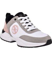 zapatilla footwear gwbride whmfb blanco guess